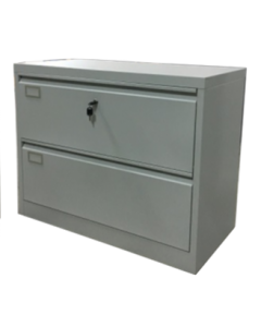 02 Drawers Lateral Cabinet