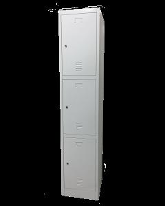 Three Compartment Locker
