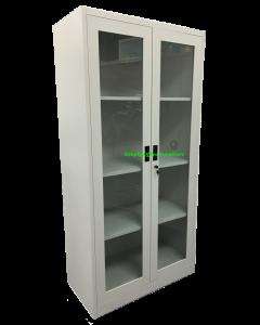 Full Height Glass Sliding Door Cabinet