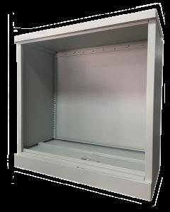 Half Height Steel Open Cabinet