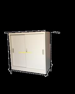 Half Height Steel Sliding Door Cabinet