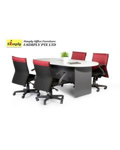 Nikko Oblong Conference Table