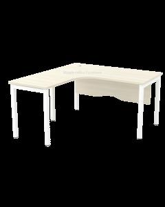 1.5m Ergonomic L-Shaped Table